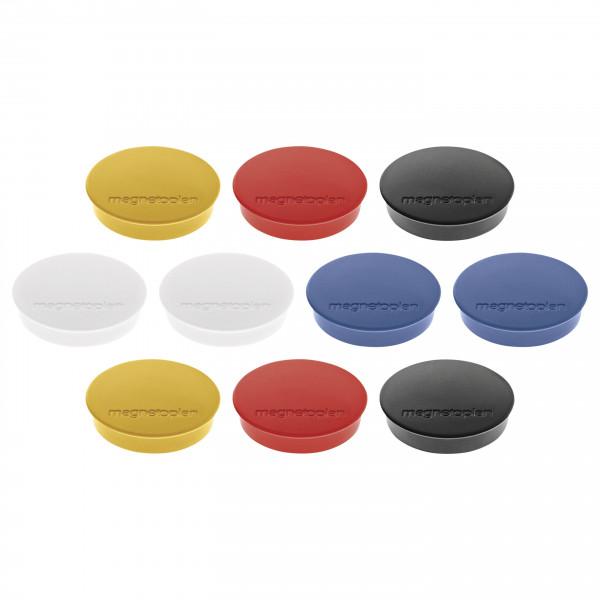 Magnet Discofix Standard, 10 Stück