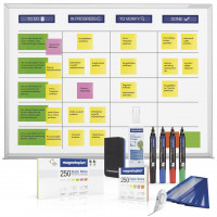 Scrumboard wall mounting, standard set (ink. Accessories)