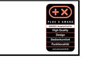 Plus X Award 2020/2021