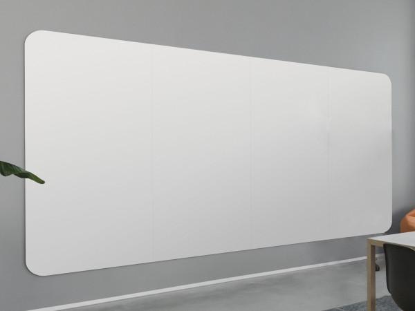 magnetoplan Infinity Wall X, SET, Rand schwarz