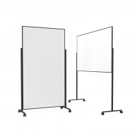 magnetoplan design whiteboard Vario 1800x1000mm / Rahmen schwarz