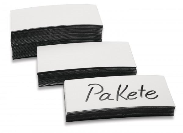 Magnetetiketten Pack a. 100 Stück